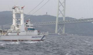 20170314【イカナゴ漁 明石海峡で安全点検】