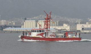 20170320【新消防艇「たかとり」就航式】